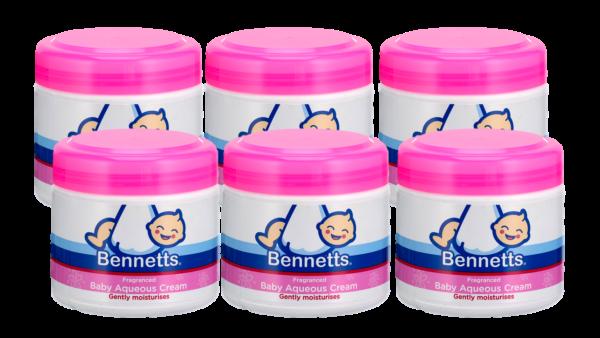 Baby Aqueous Cream 500ml (Fragranced) 6 pack