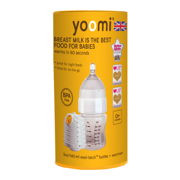 allaboutbaby-yoomi-bottle&warmer-5oz-140ml-bottle